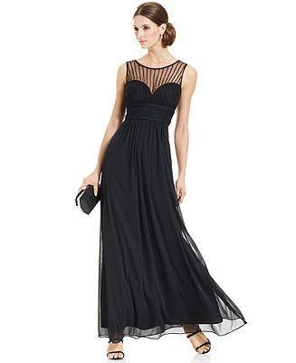 Turmec Sleeveless Black Dress Petite