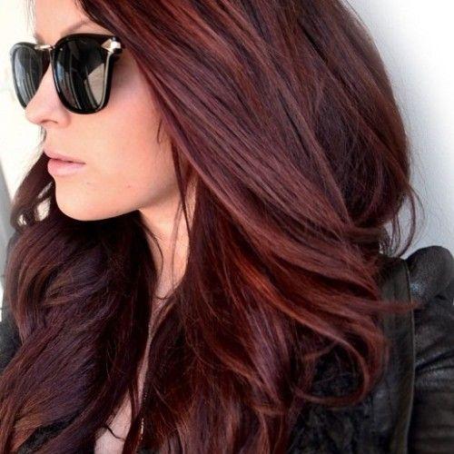Warna Rambut Untuk Kulit Kuning Langsat MARSALA