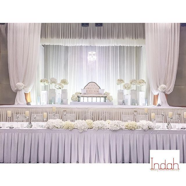 034/2016 Yasmen Decor by Indah:All white wedding. Pelamin (Hall) , Arch , walkway , maintable decor, handbouquet , white folding chair & table setup #nikah #photobooth #pelamin #pelaminakad #pelaminrumah #solemnization #akadnikah #indahpelamin #indah #jomkahwin #malaywedding #sanding #weddingdecor #mahligaicinta #kahwin #reception #maintable #entrancearch #photobooth #photoboothmalaysia #indahwedding #pelamindewan #dais #malaydais #weddingideasmalaysia