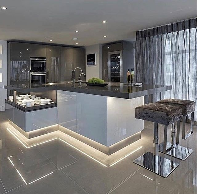 unique u shaped kitchens and tips you can use from them on awesome modern kitchen design ideas recommendations for you id=68214