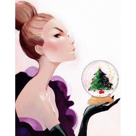 Merry Christmas  Our official Christmas illustration this year is brought to you in graceful style by Nuno DaCosta.
