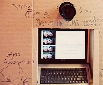 Diy photo booth crafthubs 33 best images about diy photo booth on pinterest photo solutioingenieria Choice Image