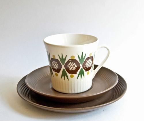 Figgjo Scandinavian Vintage Rolf Design Trios $35 SOLD