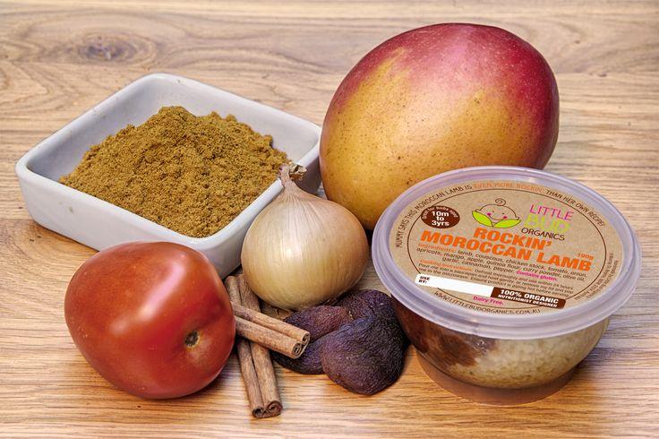Food packaging design for organic baby food range - Little Bud Organics - Australia
