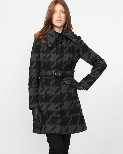 Belted Coat with Front Pockets