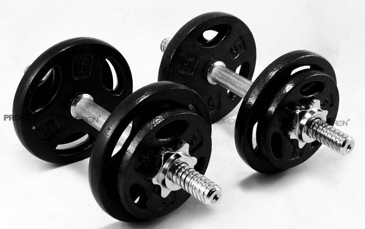 Cast Iron Adjustable dumbbell Set with best quality from factory