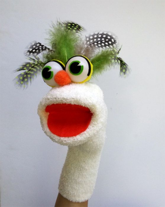 Sock Puppet by AnaPuppets on Etsy