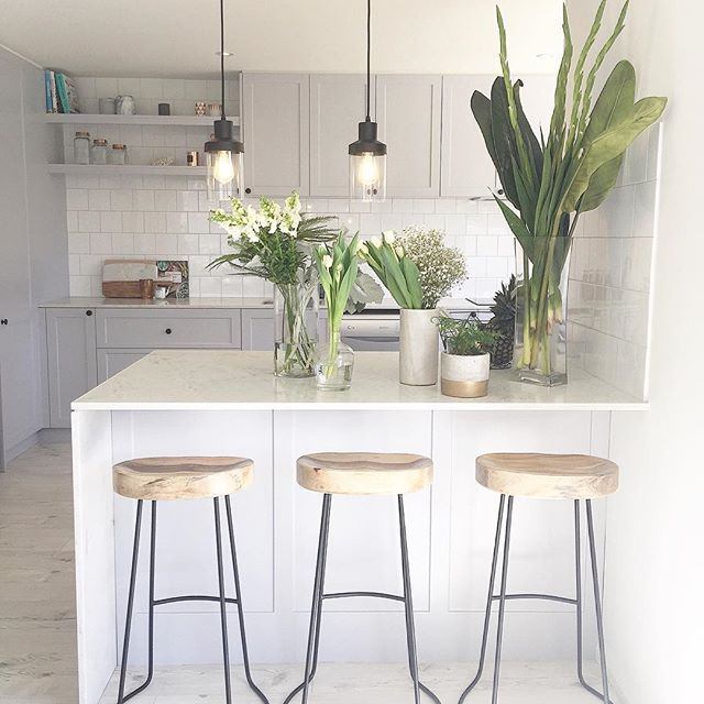 Three Bird Renovations - the ladies have excellent taste! Make a statement with our Romy Glass Pendant light