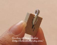 How to make necklace charms from Scrabble tiles