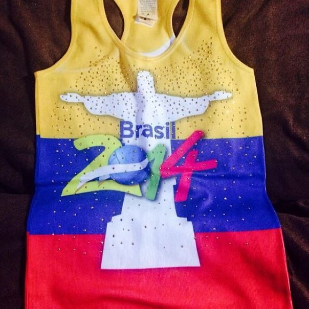 Lista mi blusa @cps_onlineshop grsssssss los masssss ❤️❤️ para mañana !! GANAMOSSSS  #lahinchadatricolor #maratontricolor