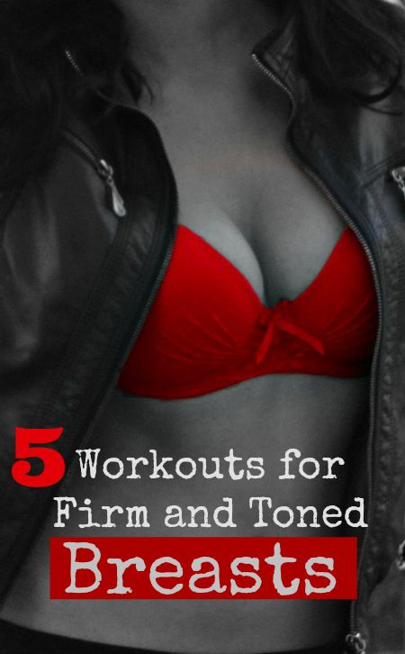 5 Breast Lifting Exercises You Can Easily Do At Home