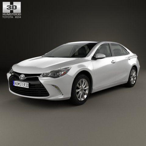 Toyota Camry XLE 2015 3D Model .max .c4d .obj .3ds .fbx .lwo .stl @3DExport.com by humster3D