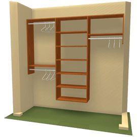 closet organization - coops closet ideas