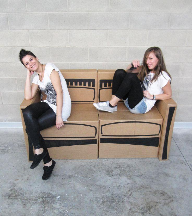Me and Cristina on our Carto_sofa