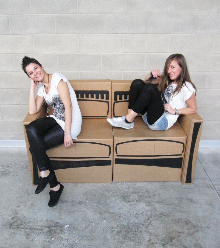 Sofa Cartochic_Double-ei project