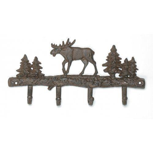 #home #decor Moose Lodge Decorative Key Hook « Cheap Apartment Decorating