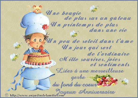 Extrêmement 36 best Joyeux anniversaire images on Pinterest | Happy birthday  NW34