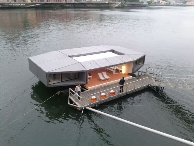 this is a cool houseboat