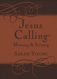 Jesus Calling Morning and Evening Devotional | http://paperloveanddreams.com/book/1007314284/jesus-calling-morning-and-evening-devotional | Experience Peace in His PresenceThe beloved