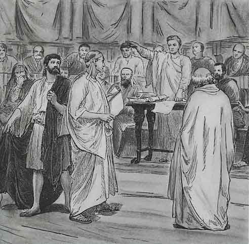 The Roman population was made up of three classes. This is important because only the patricians could be in the senate or government. This led to only the wealthy having influence in a position.