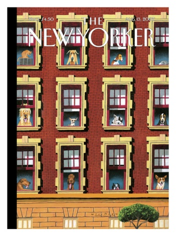 The New Yorker Cover - August 13, 2007 / Mark Ulricksen