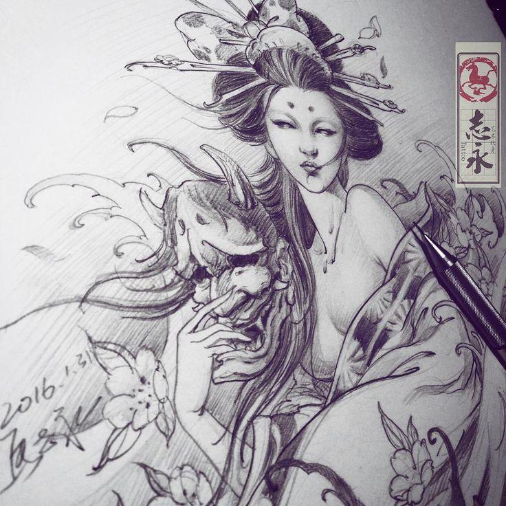 Ver esta foto do Instagram de @zhiyong_tattoo • 1,047 curtidas