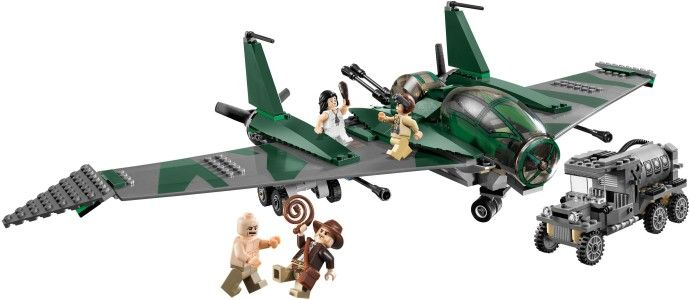 LEGO 7683: Fight on the Flying Wing #2009