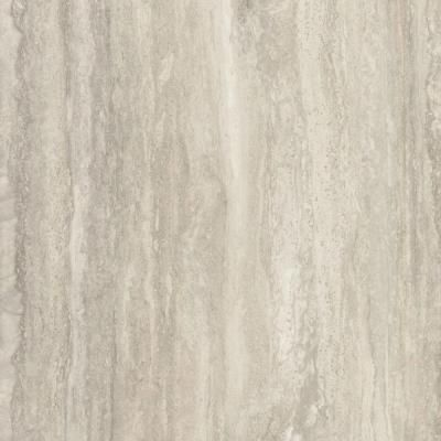 FORMICA 5 in. x 7 in. Laminate Sample in Travertine Silver Scovato