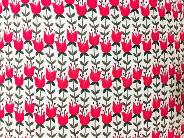 Red tulips pillow  Style & Decor