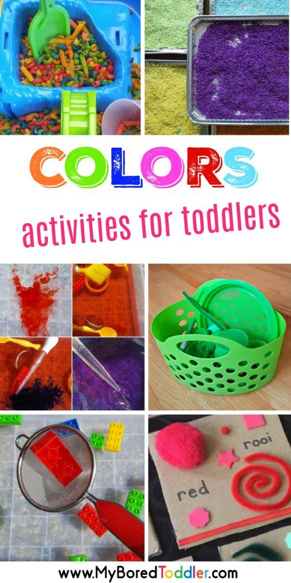 Color Activities For Toddlers - Play Based Color Activities Color  Activities For Toddlers, Teaching Colors, Color Activities