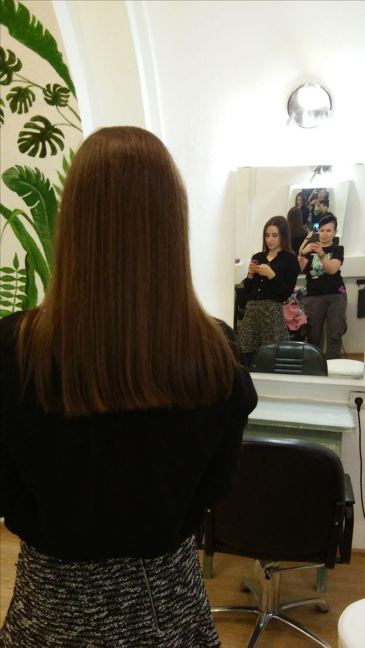 Окрашивание волос/Мультитональное окрашивание/Шоколадные оттенки/ Длинные волосы