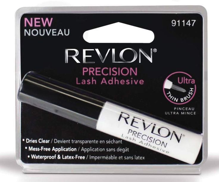 Revlon Precision Lash Adhesive is rated 3/10 (low to moderate health risk) by #SkinDeep Cosmetic Database for cosmetic ingredients safety. Do you know all the facts about your false #EyelashGlue before you buy it? Click on this pin to read our article to find out what to look for and what to avoid with your false eyelash glue #MakeupIngredients #FalseEyelashes