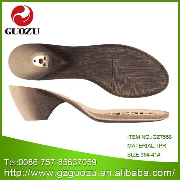 China Sole for Shoe Making Gz-7556 - China Shoe Sole, Sole