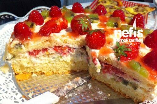 Meyveli Yılbaşı Pastası Tarifi