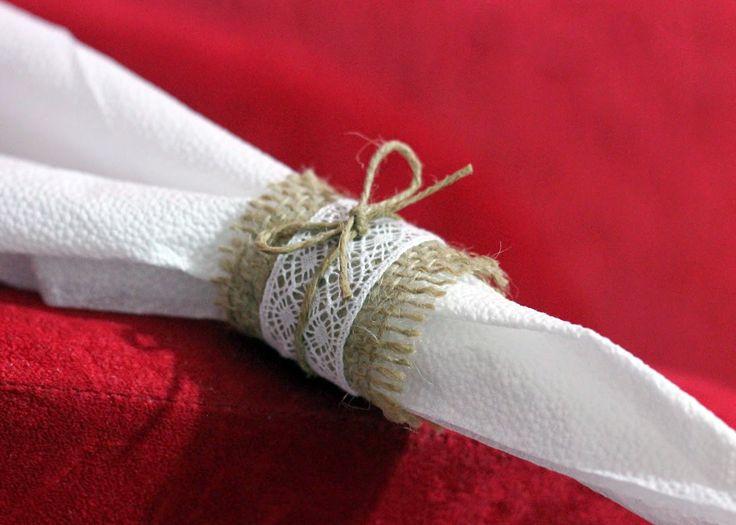 diy porta guardanapo rústico para casamento