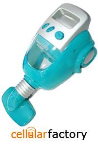 MINI CAR-SHAPED USB VACUUM KEYBOARD CLEANER (BLUE)