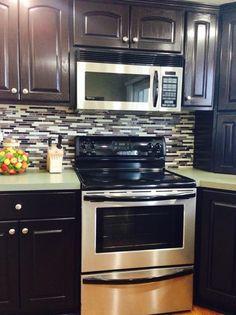 Java Gel Stain Kitchen Transformation | General Finishes Design Center                                                                                                                                                                                 More