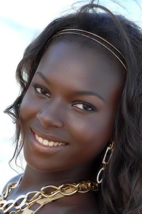 Veronique Boubane, a beauty and Top Model from Senegal, who now lives in Belgium, won Miss Belgique in 2008.