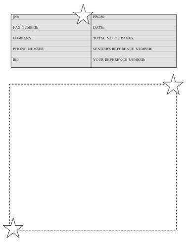 19 best FAX COVER SHEETS images on Pinterest Sample resume, Free - Fax Cover Page Templates