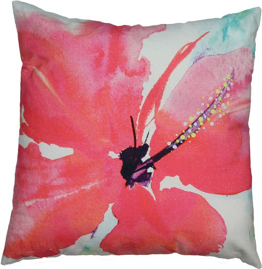 The Hibiscus Toss Cushion