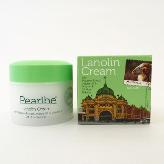 Lanolin Cream with Placenta and Jojoba Oil. Australian Made.