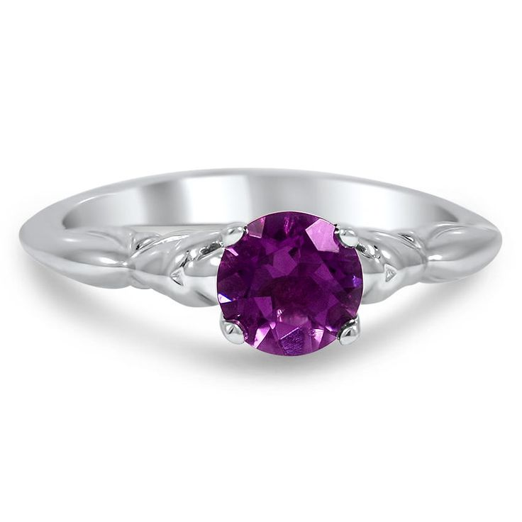 18K White Gold The Tyra Ring from Brilliant Earth