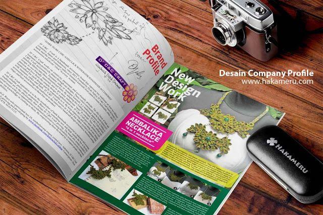 Jasa desain company profile - Jasa desain grafis online Hakameru.com