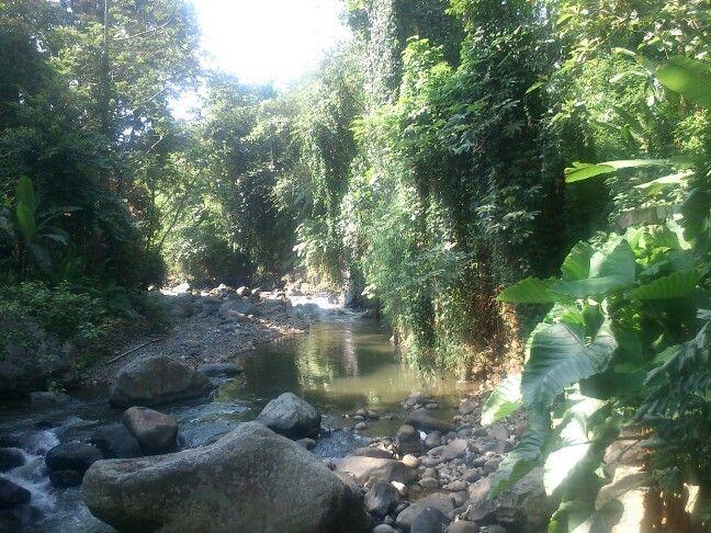 Riverside of Bogor, Indonesia