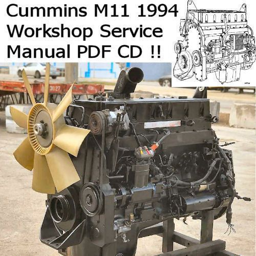 Details about Cummins M11 Series Service Manual Motor
