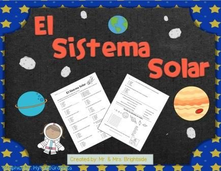 26 questions regarding our Solar System in SPANISH