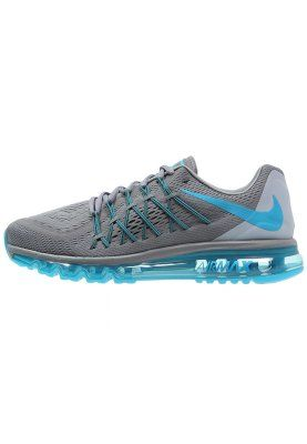 AIR MAX 2015 - Demping hardloopschoenen - cool grey/blue lagoon/black