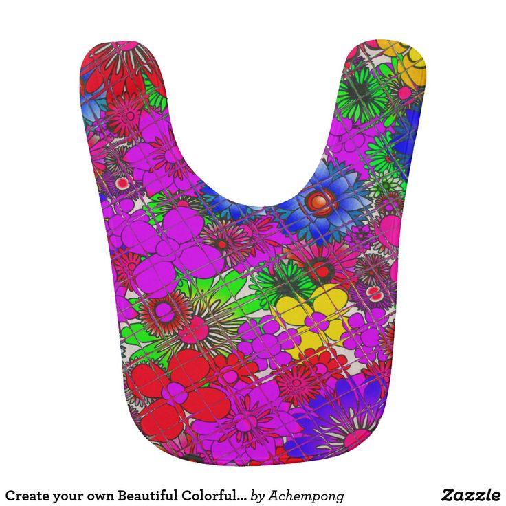 Criar sua própria roupa colorida bonita floral #Roupa para Crianças Criar #Próprios