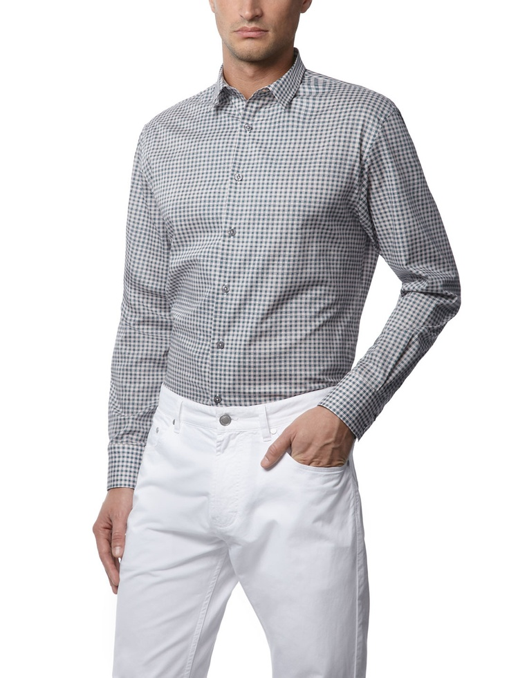 Barbed Wire Check Gents Shirt