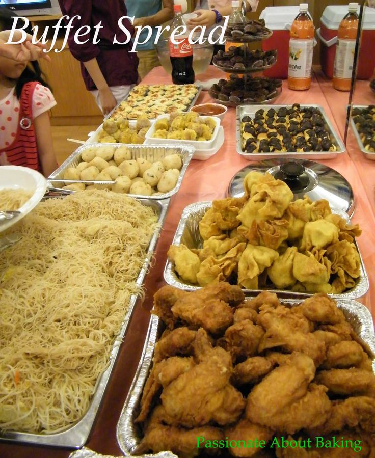 Party buffet food ideas birthday party passionate for Buffet cuisine en pin